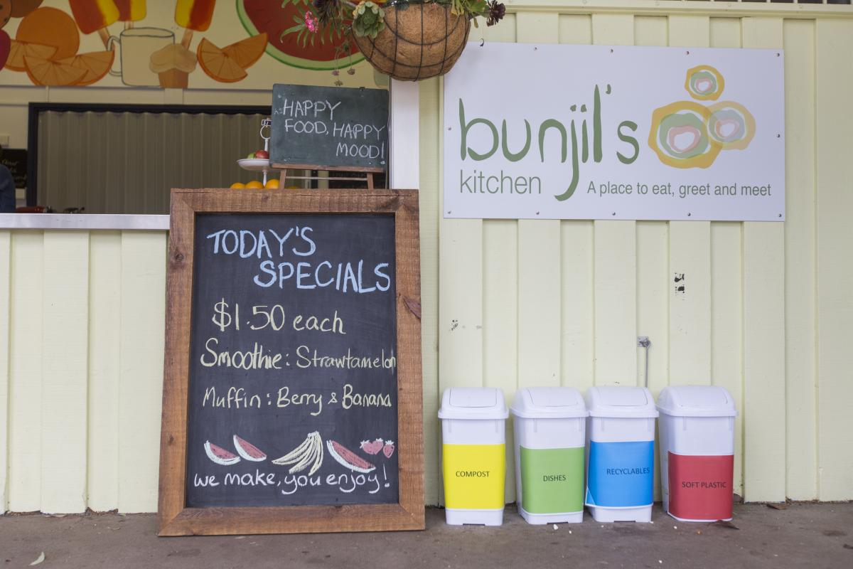 A photo of the Beaumaris Primary School canteen