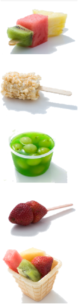 Compilation of fruit snack ideas