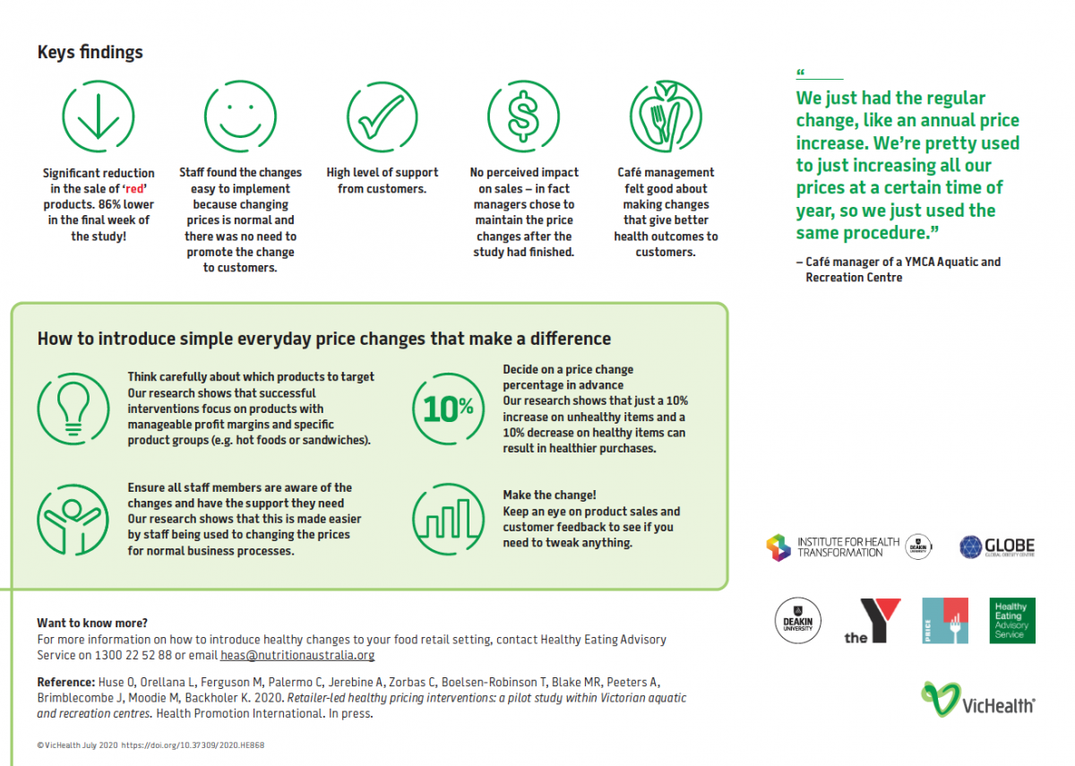 YMCA PRICE case study infographic - page 2