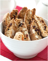 Fruit and nut biscotti