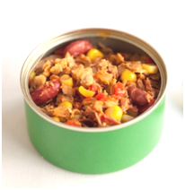 can of tuna and bean mix