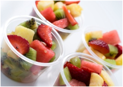 Fruit snack cups