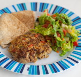 Meat and vegetable rissoles